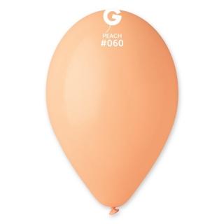 Балон  цвят праскова пастел, диаметър 26 см, 10 бр. в пакет Gemar Италия
