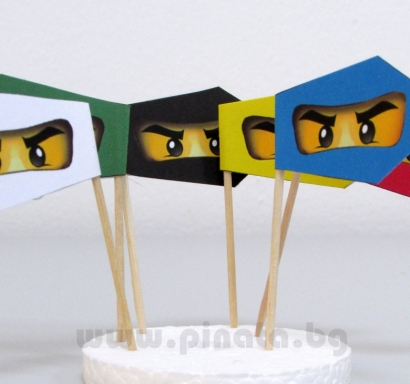 Парти Знаменца Лего Нинджаго
