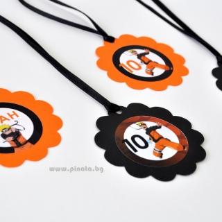 Персонализиран парти медальон Наруто