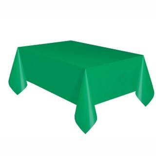 Покривка за еднократна употреба, тъмно зелена 137х274 см
