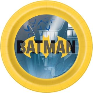 Хартиена парти чинийка Батман / Batman, 18 см лиценз
