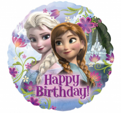 Фолиев балон Елза и Ана Замръзналото кралство, 43 см лиценз Anagram /Gd/