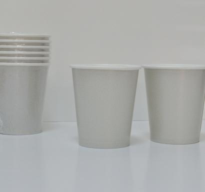 Хартиена парти чашка сребърна