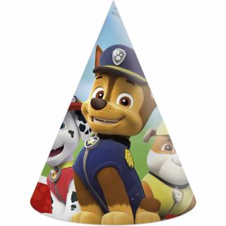 Парти шапка Пес Патрул / Paw Patrol,  6 бр. в опаковка /Gd/