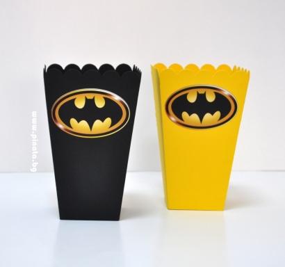 Парти кутийка за пуканки Батман