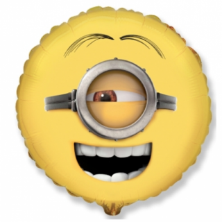 Фолиев балон Миньон Стюарт / Minion Stuart 40 см, Flexmetal /Gd/