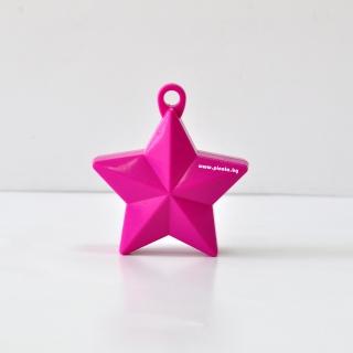 Тежест за балони - розова звезда