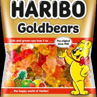 Пакет желирани бонбони Харибо Златни мечета / Haribo Goldbears 100 гр.