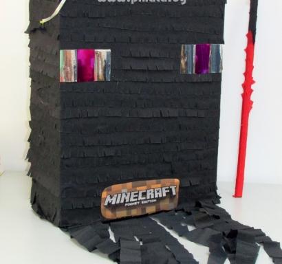 Пинята Майнкрафт Ендерман височина 50 см / Pinata Minecraft Enderman