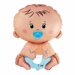 Балон Бебе - Момче син, 67 см Flexmetal /Gd/
