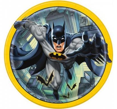 Хартиена парти чинийка Батман / Batman, 23 см лиценз