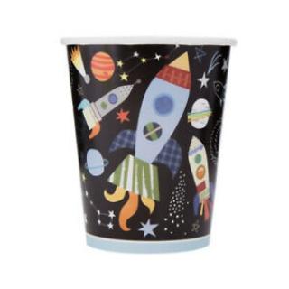 Хартиена парти чашка Космос  250 мл, Outer Space