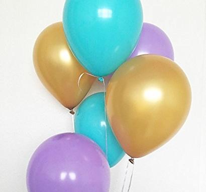 Пълнене с хелий на балон 25-30 см диаметър, с балони на клиента