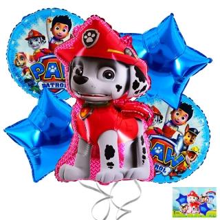 Комплект 5 бр. фолиеви балони Пес Патрул