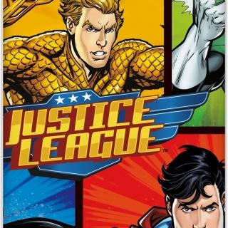 Парти покривка Лигата на Справедливостта / Justice League 137х213 см, лицензирана
