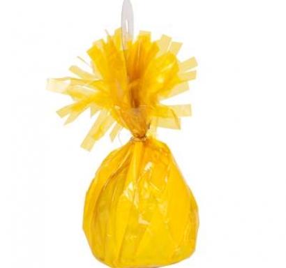 Тежест за балони - цвят жълто