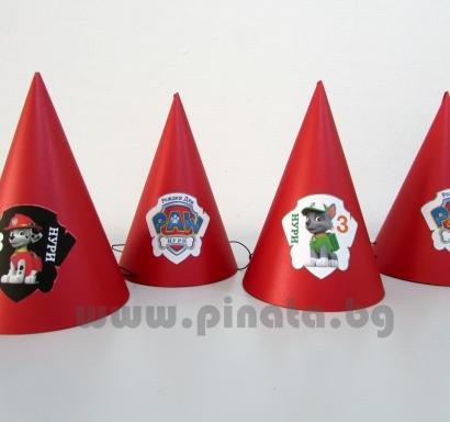 Персонализирана парти шапка Пес Патрул