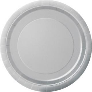 Copy of Хартиена парти чинийка сребърна, 23 см 16 бр. в опаковка