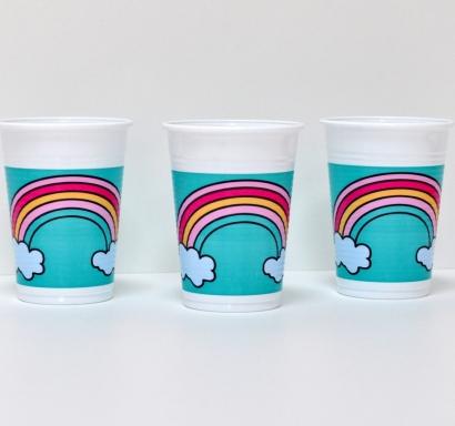 Пластмасова парти чашка Еднорог 200 мл, лицензирана