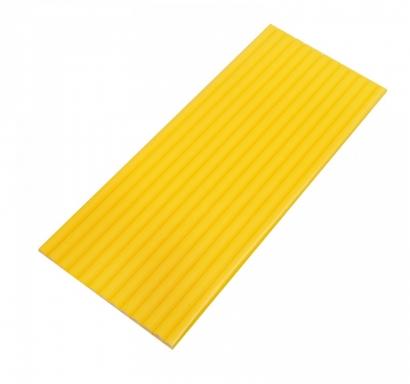 Сламки жълти картон тип