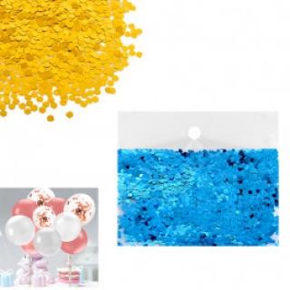 Конфети за балони цвят син
