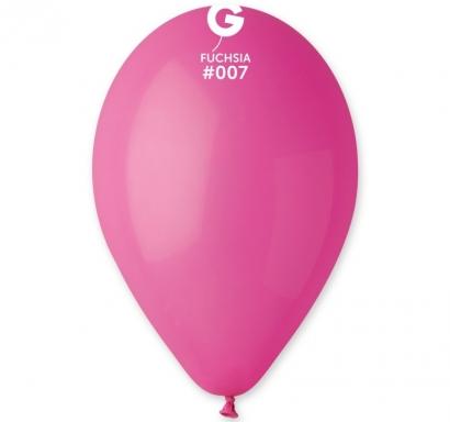 Балон  цвят циклама пастел, диаметър 26 см, 10 бр. в пакет Gemar Италия