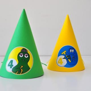 Персонализирана парти шапка Барбарони