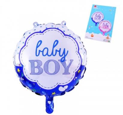 Фолиев балон Бебе момче Baby Boy, 45х45 см