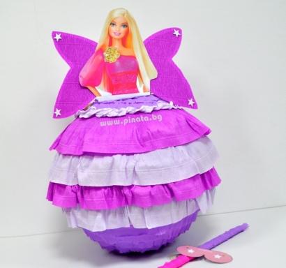 Пинята Барби Фея диаметър 40 см