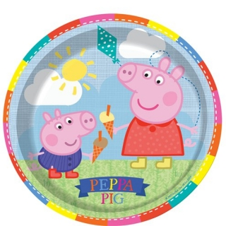 Хартиена парти чинийка Пепа Пиг