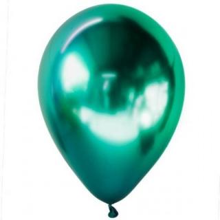 Балон хром зелен, диаметър 30 см