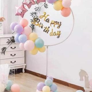 Стойка за балони с обръч, ф 80см, височина 170 см.
