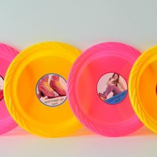 Персонализирана пластмасова парти чинийка Сой Луна