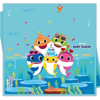 Парти покривка Бейби Шарк / Baby Shark 120х180 см, лицензирана