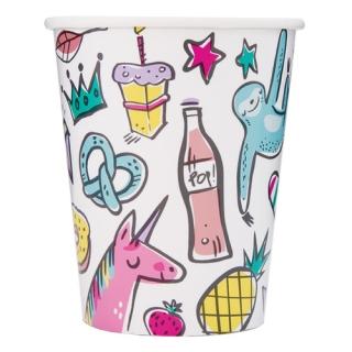 Хартиена парти чашка  Любими Неща 250 мл, Favourite Things