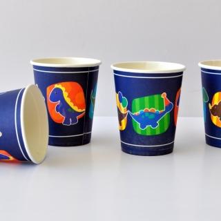 Хартиена парти чашка Динозаври