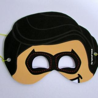 Парти маска Робин от Батман