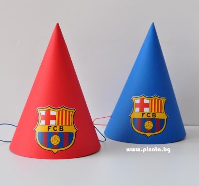 Персонализирана парти шапка Барселона