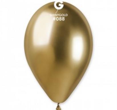 Балон хром злато, диаметър 33 см Gemar Италия