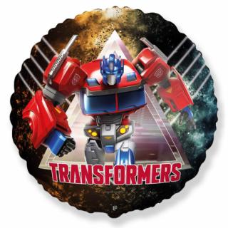 Фолиев балон Трансформърс Оптимус / Transformers Optimus 40 см, Flexmetal /Gd/