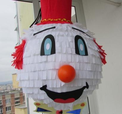 Пинята Клоун 2 височина 60 см