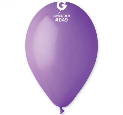 Балон  цвят лавандула пастел, диаметър 26 см, 10 бр. в пакет Gemar Италия