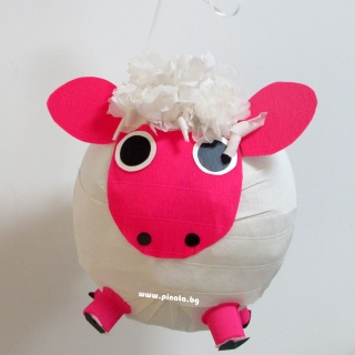 Пинята Овца диаметър 40 см / Pinata Sheep