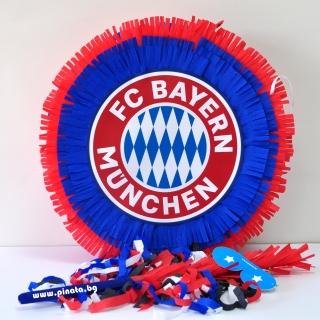 Пинята Байерн Мюнхен, две лица 40х40 см