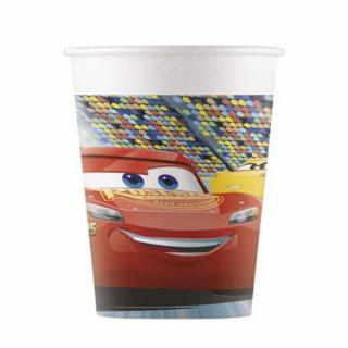 Хартиена парти чашка Маккуин / Mcqueen 200 мл, 8 бр. в опаковка /Gd/