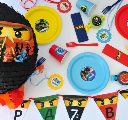 Промо тематичен парти пакет х10 Лего Нинджаго