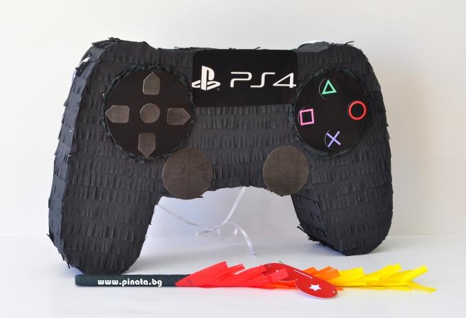 Пинята Плейстейшън Джойстик дължина 60 см / Pinata Playstation