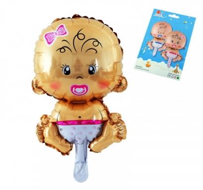 Балон Бебе - Момиче, 49 см