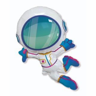 Фолиев балон Астронавт, космонавт, 80 см височина Flexmetal /Gd/