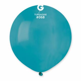 Балон тюркоаз пастел, 48 см диаметър, Gemar G150 /Gd/